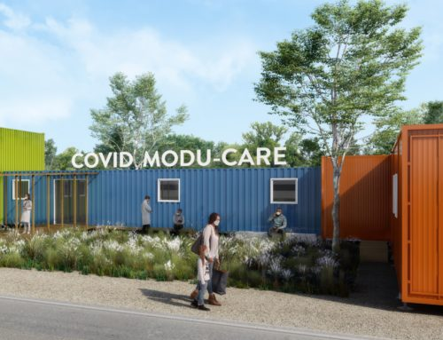 Hôpital modulaire COVID-19