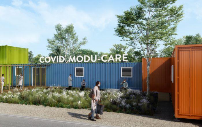 covid modu-care hopital modulaire